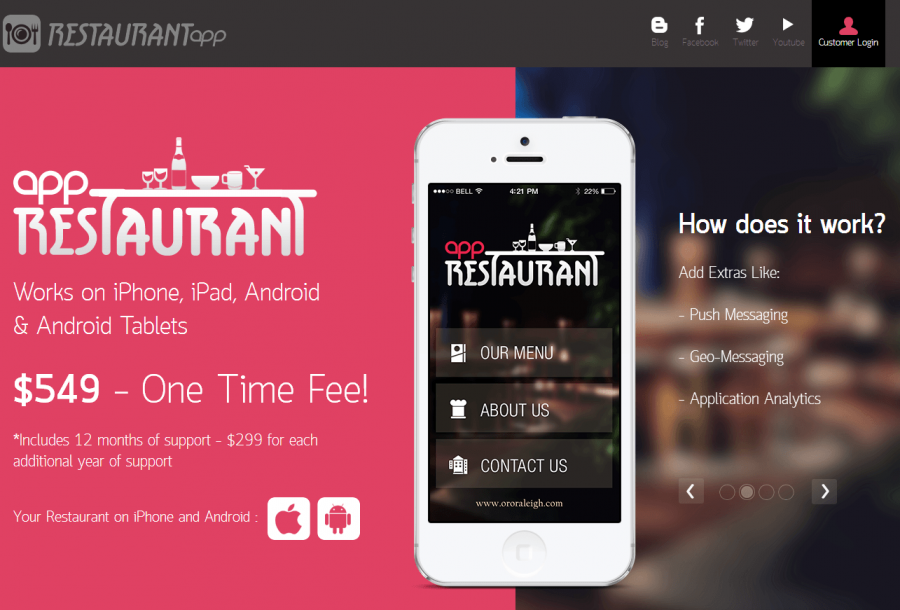 Restaurant App   The Best Mobile App For Restaurants